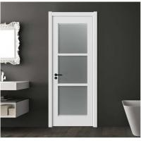 Buy cheap Secure Frosted Glass Interior Door 40mm Total Thickness 1100mm Max Width product