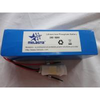 China Lithium Polymer Battery Pack 24V 10ah E-Bike Battery (24V 10AH) on sale