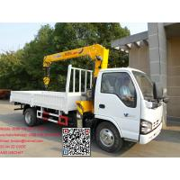 Buy cheap New Articulated Boom Lift Crane Truck Manufacturer product