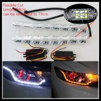 China Flexible Switchback LED daytime running light Strip Light for Headlight Sequential Flasher on sale