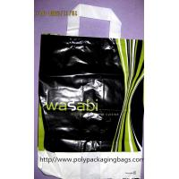 China Classic Soft Loop Handle Bag / HDPE Boutique Bag for Advertising on sale