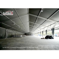 Buy cheap Water Proof PVC Walls Aluminum Frame Warehouse Tent Industrial Storage Usage product