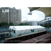 Buy cheap Multifunctional Vaccine Medical Outdoor Event Tents With PVC Roof 850g/Sqm product
