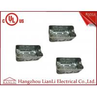 Buy cheap UL Approvals Metal Conduit Boxes Galvanised Handy Box 2 inch * 4 Inch product