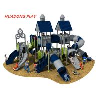 Buy cheap Villa Series Plastic Kids Playground Equipment , Outdoor Play Slide For Childrens product