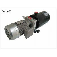 Buy cheap DC Horizontal 12V Hydraulic Power Pack with Steel Tank for Agricultural Machine product