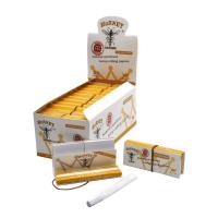 China 24 Booklets / Box Cigarette Paper Roll For Dry Herb 78mm Length on sale