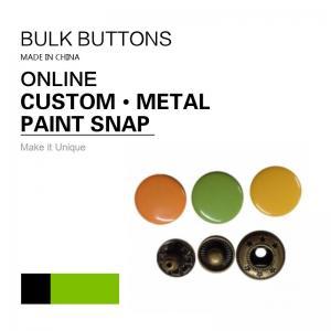 Buy cheap Barrel Rack & Spray Paint DTM Fabric Clothing Colour 4 - Parts Bulk Snap Brass Button product