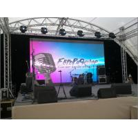 Buy cheap Commercial Outside P6 LED Video Wall , Large LED Screens Rental For Stage product