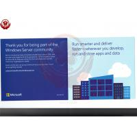 Buy cheap Full Version 2016 Windows Server Operating System Standard Retail Box product