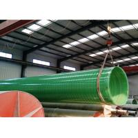 China FRP/GRP Fiberglass PIPE DN1200 DN2400 DN4000 water treatment pipes on sale