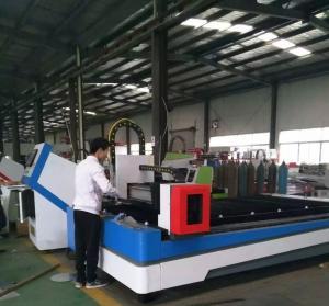 China 1000w 1500w 2000w Fiber Laser Cutter Machine For SS / Aluminum / Copper Cutting wholesale