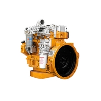 Buy cheap 4 Cylinders 85HP Yuchai Diesel Engine Water Cooling System YC4FA product