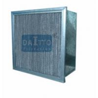 Buy cheap Flange Separator High Flow Panel Filter Little Weight Easily Operated product
