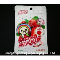 China BOPP Plastic Resealable Snack Packaging Pouches for Fruit Snack on sale