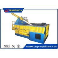 Buy cheap Hand Valve Control Hydraulic Metal Scrap Baling Machine For Light Metal product