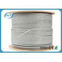 Buy cheap FTP Shielded Cat6 Internet Cable CCA Copper 23AWG For Telephone Communication product
