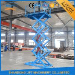 Buy cheap do armazém material da plataforma do elevador de 1.5T 3.8M a carga hidráulica Scissor o CE TUV do elevador product