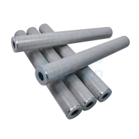 Buy cheap 40'' 50 Micron 100 Micron Porous Stainless Steel Sintered Metal Cartridge Filter product