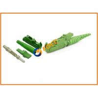 Buy cheap Single Mode PC E2000 APC Fiber Optic Connector With Push-pull Coupling Mechanism product