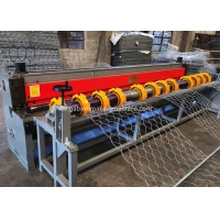 Buy cheap 5000MM Gabion Box Production Line for For 88x125mm Gabion Mesh With Servo Motor product