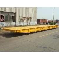 Buy cheap Shipping Container Roro Mafi Trailer 1310mm Wheel Base 40-80T Payload product