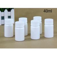 Buy cheap 40 Ml Plastic Tablet Bottles Tablet Container For Medicine Capsule Pill product