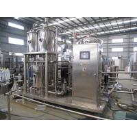 Buy cheap High Pressure Carbonated Beverage Mixer Machine 1000 - 6000 L/hr product