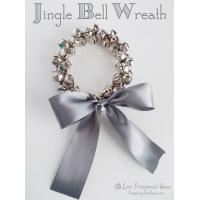 jingle bell wreath DIY