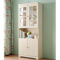 Buy cheap Living Room Modern Home Furniture Cabinets Bookcase With Glass Door product