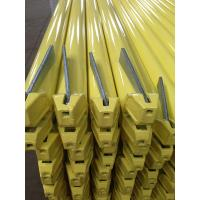 Buy cheap Ringlock scaffolding ledger yellow powder coated product
