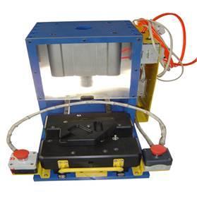 Buy cheap Подгонянный алюминий + пластиковая чернота анодирует джиг 400*350 и приспособление для испытательного оборудования product