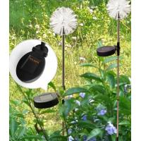 Buy cheap RGB Color Solar Stake Lights Outdoor Decor , Led Solar Garden Stake Lights from wholesalers