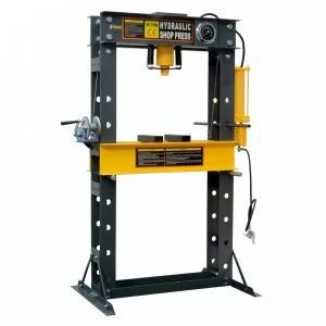 Buy cheap CE Gauge 50 Ton Dual Speed Industrial Hydraulic Shop Press Heavy Duty product
