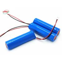 Buy cheap 1.2-1.5Ah 1S 3.7 V Portable Speaker Battery Light Cell Weight With 2A Protective Output Board product