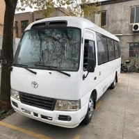 Buy cheap 4L Engine 43000km Second Hand Coaster Bus 30 Seater Bus product
