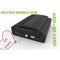 Buy cheap Hybrid 8CH 1080P HDD SD card HD Mobile DVR vehicle video recorder 3G GPS WIFI product