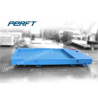 Buy cheap 30T Flat Bed Industry Material Transfer Cart With Remote And Hand Wireless Control product