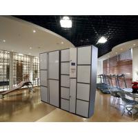 Buy cheap Barcode RFID Luggage Storage Lockers Public Locker For Factory Changing Room from wholesalers