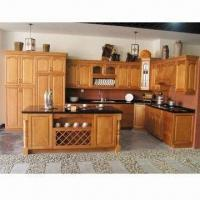 Kitchen Cabinet Made Of Solid Wood Available In Various Colors And