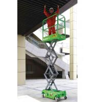 Buy cheap MINI Manual Pushing Mobile Scissor Lift from wholesalers