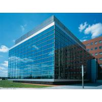 Buy cheap Ultra clear & Clear or Low-e Double Glazing Polishing Glass for commercial curtain wall product