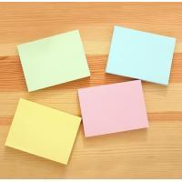 Buy cheap custom color paper sticky note mome pad notepad any size any shape product