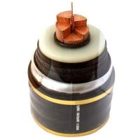 Electric High Voltage Power Cable : Xlpe insulated underground high voltage cable yjlw