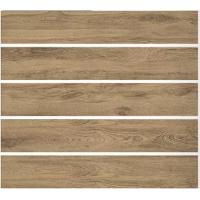Buy cheap Brown 200x1200MM Wood Effect Ceramic Tiles Matt Surface For Floor / Wall product