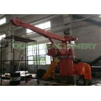 China 3 Tons 4M Compact Design Ship Crane With Stiff Boom / Hydraulic System on sale