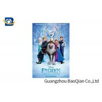 Buy cheap PET / PVC / PP 3D Lenticular Poster Printing , Cartoon Lenticular Movie Poster Advertisement from wholesalers