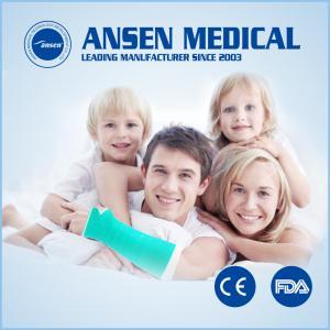 Buy cheap Ansenのプラスター包帯の防水X線のRadiolucent一部分の苦境のガラス繊維の鋳造テープ完全な取り替え product