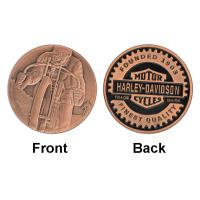 Buy cheap Army Coin Military Soldier Bicycle Commemorative Silver Coin  For Collection product