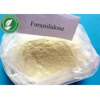 Buy cheap Furazolidone Pharmaceutical Raw Materials for Antimicrobial , CAS 67-45-8 product